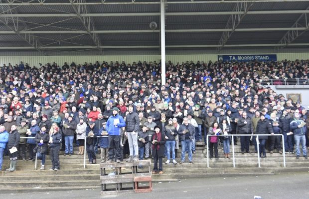 Crowd in Stand