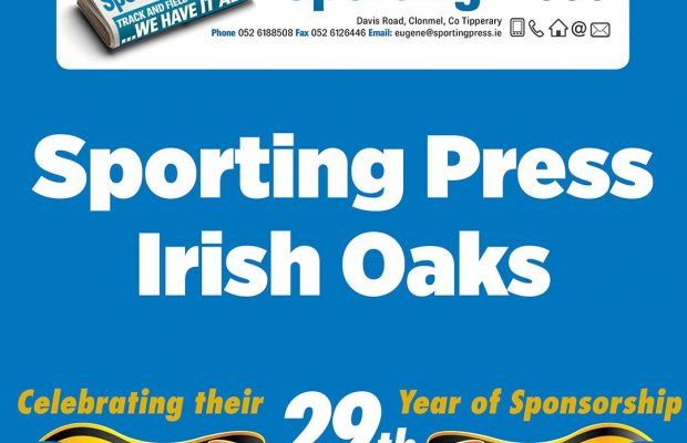 Sporting press irish oaks betting calculator betting on live tennis matches